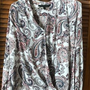 Ladies paisley top